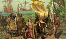 La historia de Cristóbal Colón cuando descubrió América