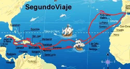 Segundo viaje de Cristóbal Colón