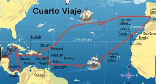 Cuarto viaje de Cristóbal Colón